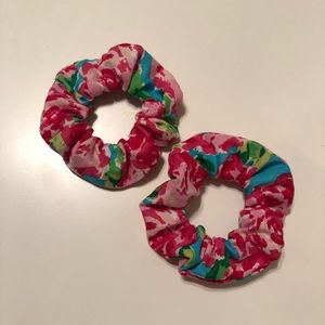 2 Lily pulitzer scrunchies